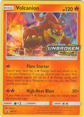 Volcanion - SM179 - Staff Prerelease Promo - SM Black Star Promo