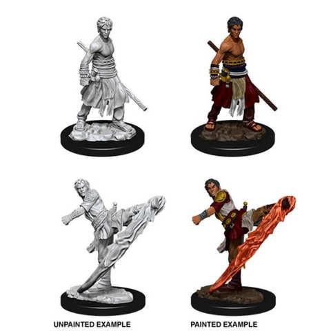 Nolzurs Marvelous Unpainted Minis - Male Half-Elf Monk