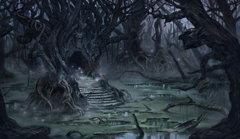 Ultimate Guard Play Mat Lands Edition Ii Swamp