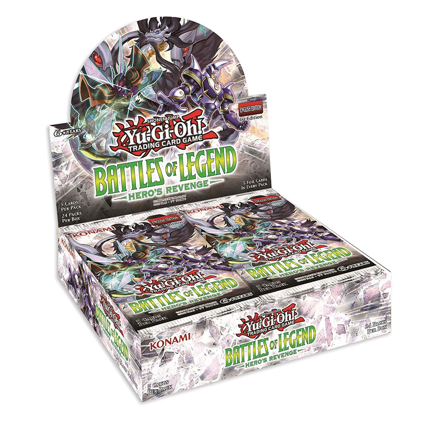 Battles of Legend: Heros Revenge Booster Box
