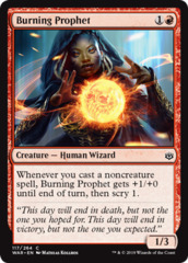 Burning Prophet - Foil