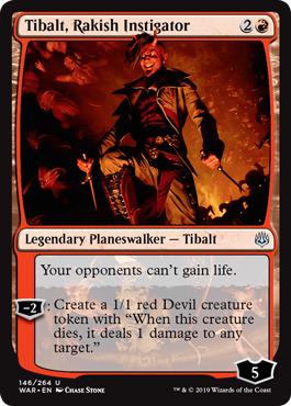 Tibalt, Rakish Instigator - Foil