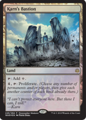 Karns Bastion - Foil Planeswalker Weekend Promo