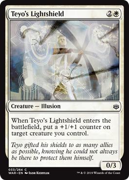 Foil the Shieldmage War of the Spark MTG Teyo NM-Mint English
