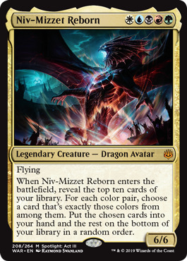 Niv-Mizzet Reborn - Foil