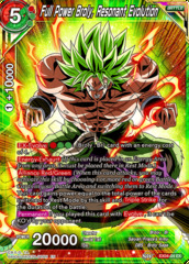 Full Power Broly, Resonant Evolution - EX04-04 - EX - Foil on Channel Fireball