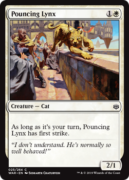 Pouncing Lynx - Foil