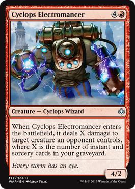 Cyclops Electromancer - Foil