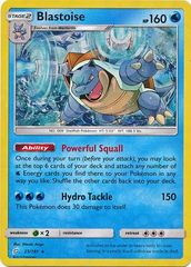Blastoise - 25/181 - Cracked Ice Holo Torrential Cannon Theme Deck Exclusive