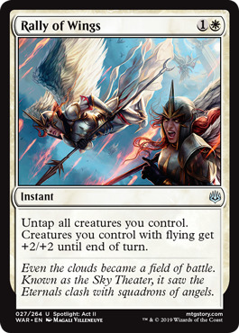 Rally of Wings - Foil