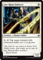 Law-Rune Enforcer - Foil