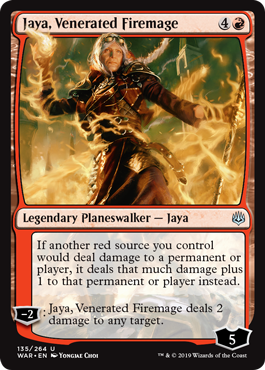 Jaya, Venerated Firemage - Foil