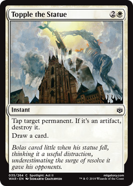 Topple the Statue - Foil