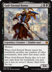 God-Eternal Bontu - Foil