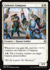 Gideon's Company - Planeswalker Deck Exclusive