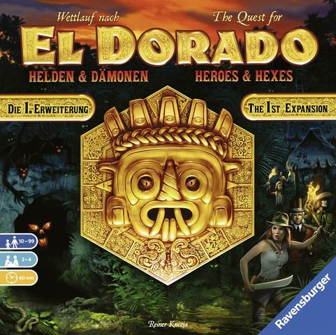 The Quest for El Dorado: Heroes Exp