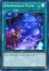 Dwimmered Path - SR08-EN041 - Super Rare - 1st Edition