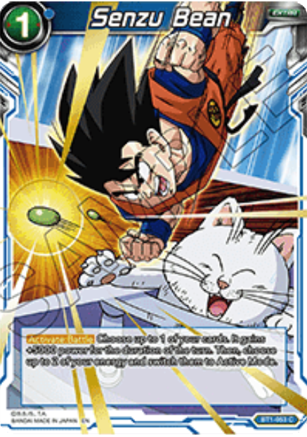Whis/'s Coercion BT1-055 C Dragon Ball Super TCG NEAR MINT