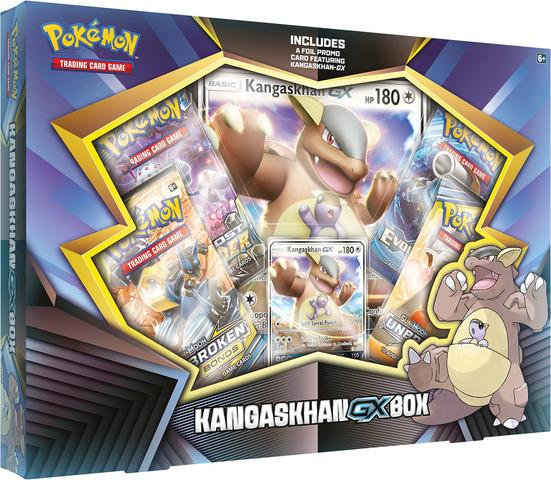 Kangaskhan GX Box