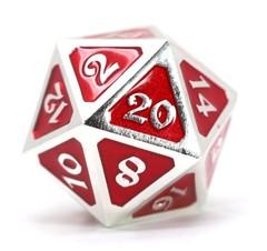 Dire d20 - Mythica Platinum Ruby