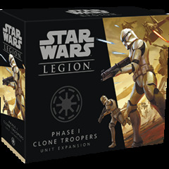(47) Star Wars: Legion - Phase I Clone Troopers Unit Expansion
