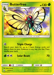Butterfree - 4/214 - Rare