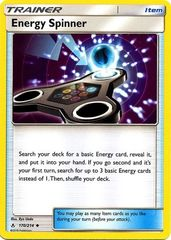 Energy Spinner - 170/214 - Uncommon