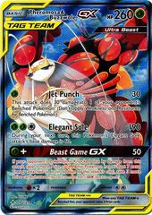 Pheromosa & Buzzwole Tag Team GX (Alternate Art) - 192/214 - Full Art Ultra Rare on Channel Fireball