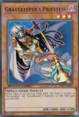 Gravekeeper's Priestess - STP1-EN017 - Super Rare - Unlimited