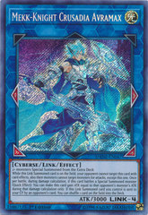 Mekk-Knight Crusadia Avramax - DANE-EN047 - Secret Rare - 1st Edition