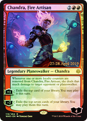 Flamecaller Prerelease Promo x1 Light Play, Pre-Release Promos Chandra Foil