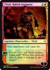 Tibalt, Rakish Instigator - Foil - Prerelease Promo