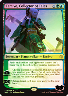 Tamiyo, Collector of Tales - Foil - Prerelease Promo