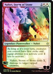 Nahiri, Storm of Stone - Foil - Prerelease Promo