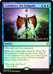Commence the Endgame - Foil - Prerelease Promo