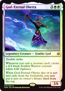 God-Eternal Oketra - Foil - Prerelease Promo