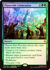 Planewide Celebration - Foil - Prerelease Promo