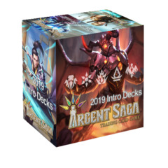 Argent Saga TCG: Intro Deck Display Box