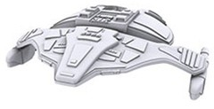 Star Trek: Deep Cuts Unpainted Ships - Jem'Hadar Attack Ship