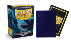 Dragon Shield Sleeves (Box of 100) - Botan Night Blue Matte