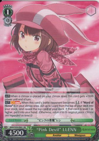 GGO/S59-E001 RR Pink0 Devil LLENN