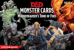 Dungeons and Dragons RPG: Monster Cards - Mordenkainen's Tome of Foes