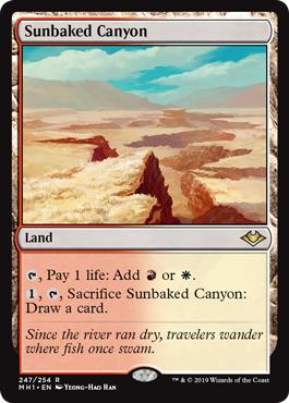 Sunbaked Canyon