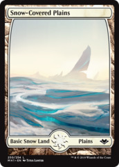 Snow-Covered Plains - Foil