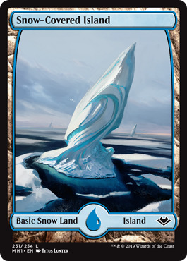 Snow-Covered Island - Foil