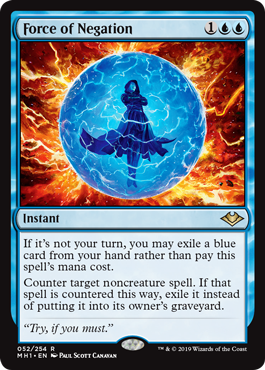 Force of Negation - Foil