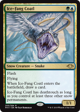Ice-Fang Coatl - Foil
