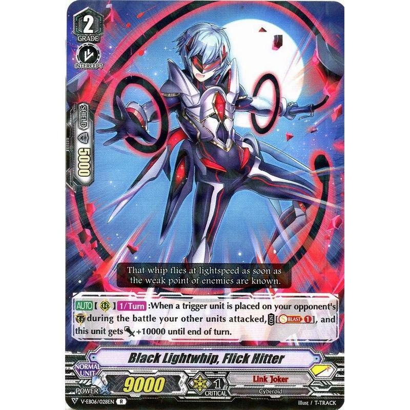 Black Lightwhip, Flick Hitter - V-EB06/028EN - R