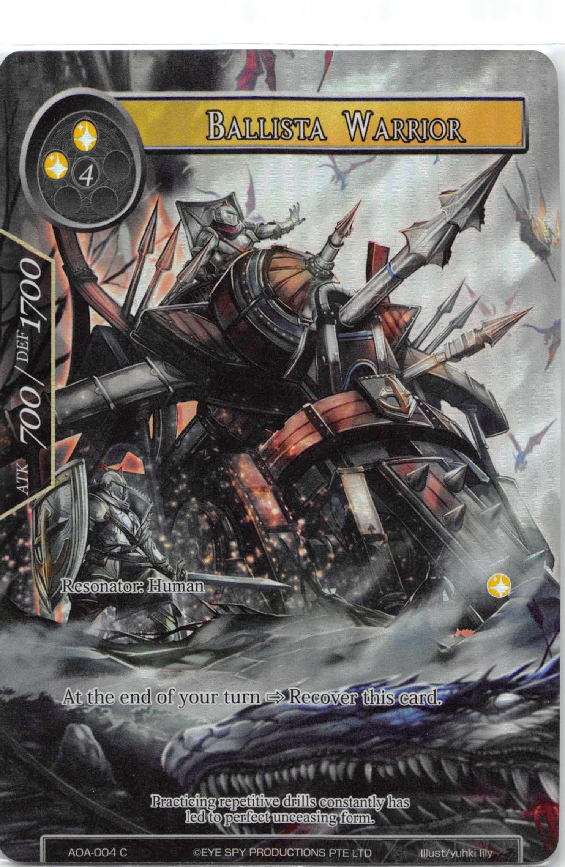 Ballista Warrior - AOA-004 - C - Full Art
