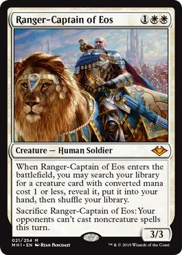 Ranger-Captain of Eos - Foil